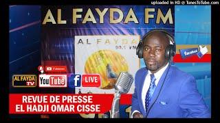 REVUE DE PRESSE WOLOF RADIO AL FAYDA ELHADJI OMAR CISSE JEUDI 21 OCTOBRE 2021