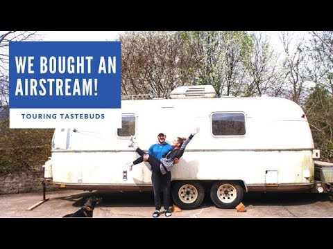 WE GOT AN AIRSTREAM! || Airstream Renovation Day 1 & 2!