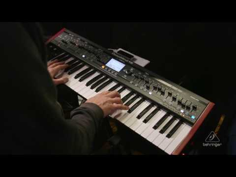 behringer deepmind 12 49 key 12 voice analog synthesizer sweetwater