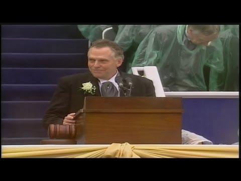 Terry McAuliffe speaks at Inauguration