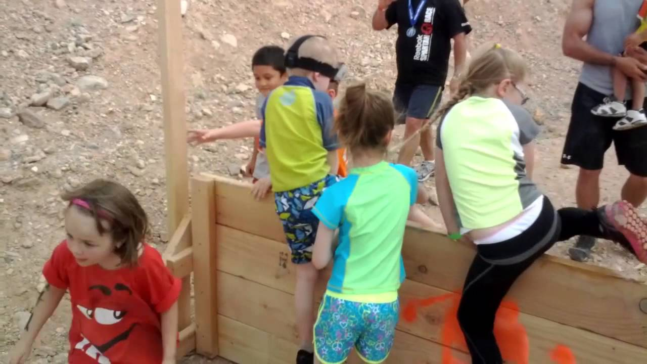 Spartan Race Las Vegas >> 2013 Vegas Kids Jr Spartan Race - YouTube