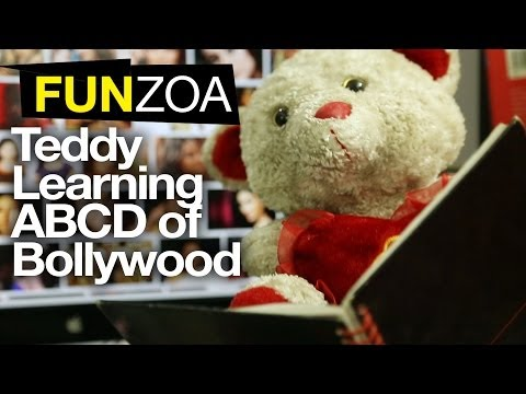 FUNZOA VINE 1 |Teddy Learning ABCD At Bollywood Film School | Funny Filmy Meanings