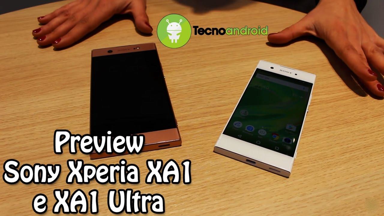 Sony xperia xa1 and xa1 ultra hands on android authority - Sony Xa1 Ed Xa1 Ultra Preview Dal Mwc 2017