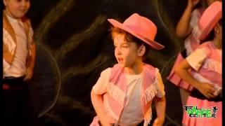 Zumba Kids Jr - Cowboy Dance | DO U SPEAK DANCE Showcase 2015 by Total Dance Center