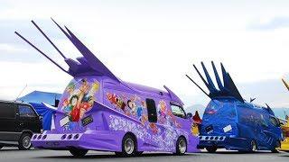Невероятный тюнинг микроавтобусов в Японии - Japanese Vanning(, 2017-10-26T06:52:19.000Z)