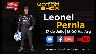 Entrevista a Leonel Pernia - Motor Show Río Cuarto 2020