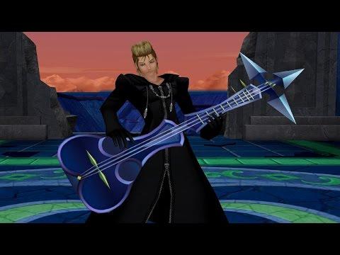 Kingdom Hearts 2: Data Demyx Boss Fight (PS3 1080p)