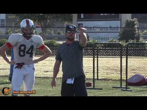 Football - Offensive Coordinator David Marsh - Mic