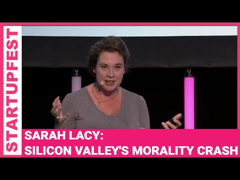 Pando's Sarah Lacy and Silicon Valley's Morality Crash