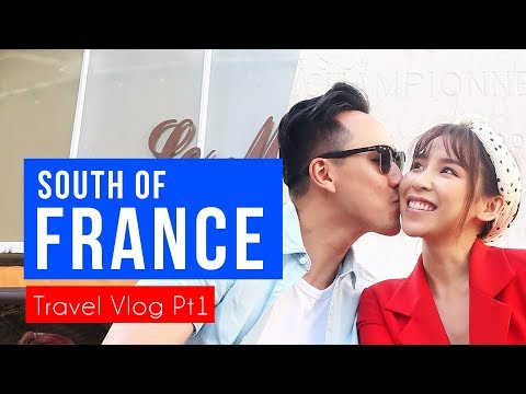 Travel with us to the South Of France!