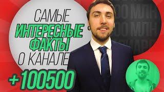 +100500 : самые интересные факты о канале  | ЮТУБЕР