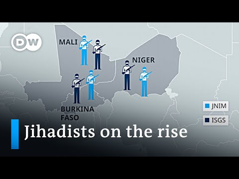 Why extremist militias are on the rise in the West African Sahel | DW News