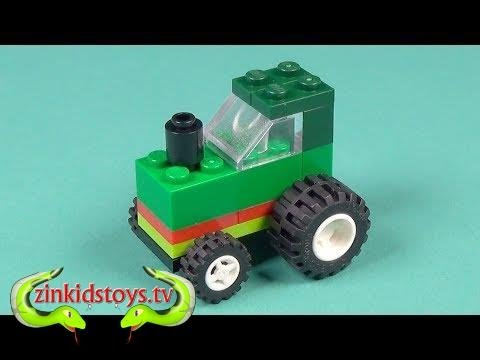 Kitchentoytvlego Tractor Building Instructions Lego Classic 10708