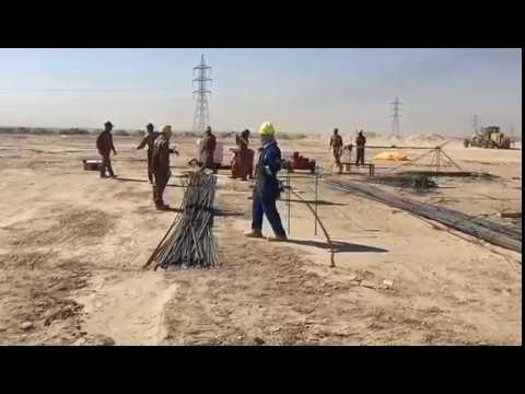 Oilfield Well Pad Preparation & construction. - 1