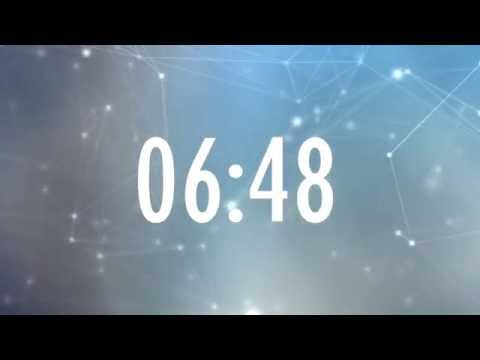 10 Minute Countdown Timer - Motion Background
