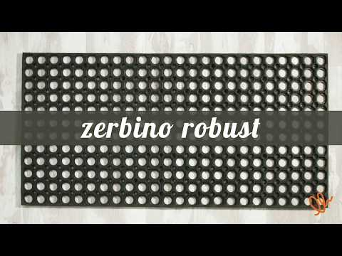 ROBUST ZERBINO IN GOMMA BASE ANTIFATICA