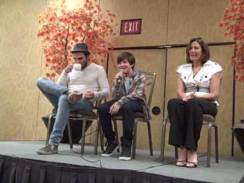 Jacob Kogan @ Star Trek convention #1