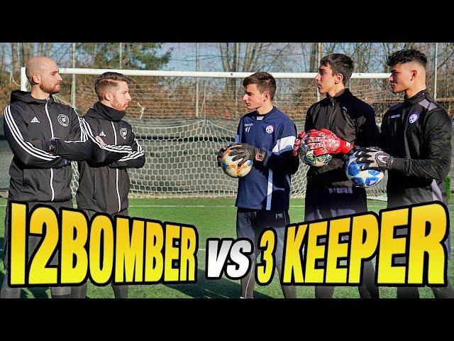 SEGNARE con 3 PORTIERI in PORTA sarà POSSIBILE ?? I2Bomber VS 3 Goalkeeper