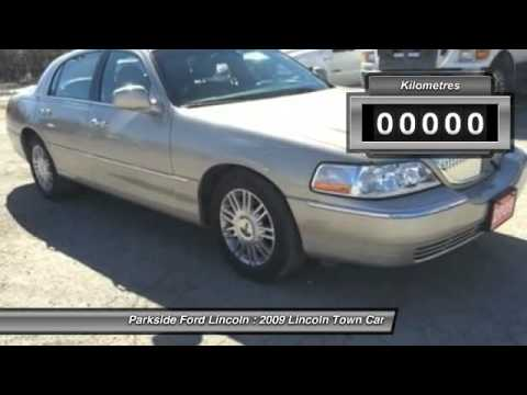 2009 lincoln town car winnipeg mb 7b104a youtube. Black Bedroom Furniture Sets. Home Design Ideas