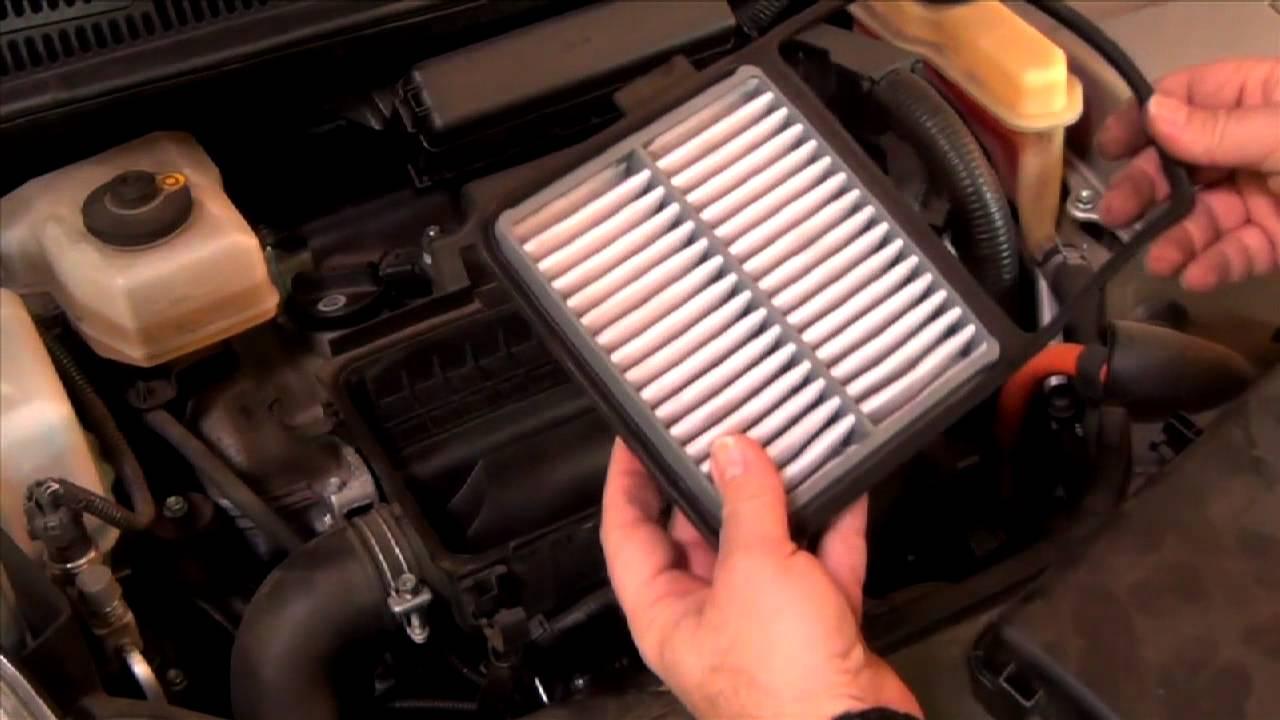 How to install a toyota prius air filter 2004 2009 lubeudo com youtube
