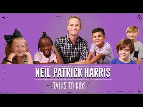 Neil Patrick Harris Talks to Kids About Rules