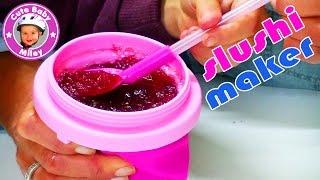 Slushy Maker Magic Freez Chillfactor - Slush Eis Becher Tuttifrutti - Kinderkanal