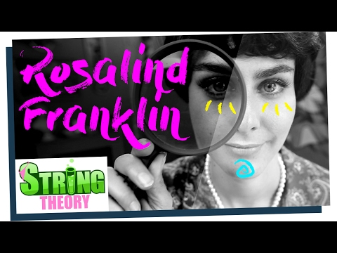 Marion Seclin est Rosalind Franklin - Scienceuses #05 - String Theory
