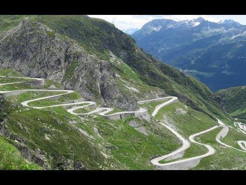 Fantastiske Alpene og San Bernandino!