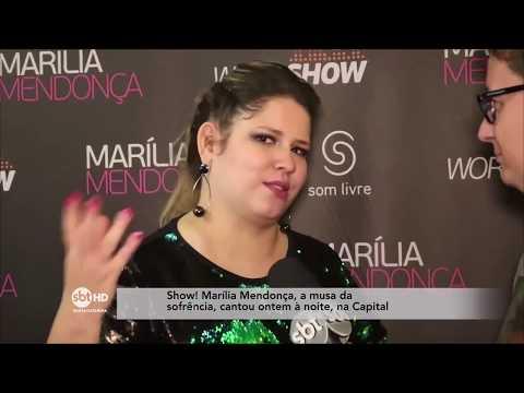 Marília Mendonça em Florianópolis  SBT Meio-Dia