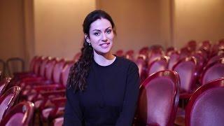Анна Ковальчук приглашает красноярцев на «Театральный синдром»