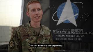 AUAB service members cross into the U.S. Space Force