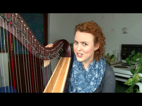 Memorizing Harp Sheet Music using