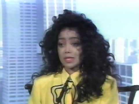 La Toya Jackson RARE INTERVIEW clip 1989