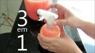Aromatizador – Agua de passar e água de lençóis