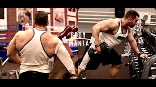 Болезнь vs Бодибилдинг. Тренировка спины - Денис Филиппов.(, 2015-08-10T09:15:45.000Z)