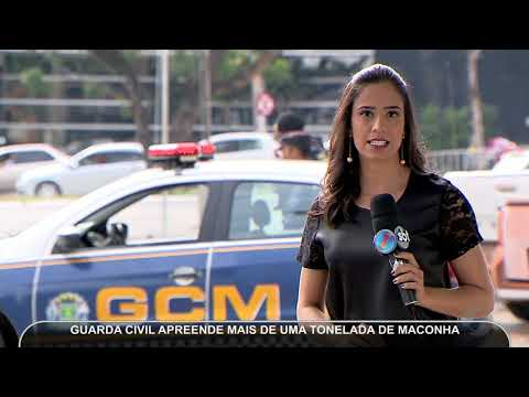 JMD (18/05/18) - Guarda Civil Metropolitana Apreende Uma Tonelada De Maconha