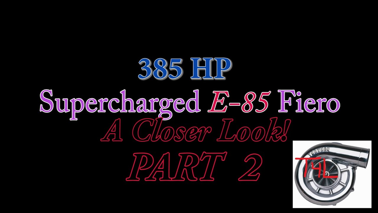 3800 Supercharged Fiero (Tips & Closer Look Part 2) / Engine Swap