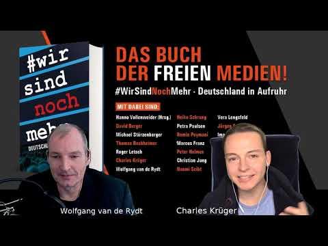 Deutschland in Aufruhr - Charles Krüger bei #WirSindNochMehr