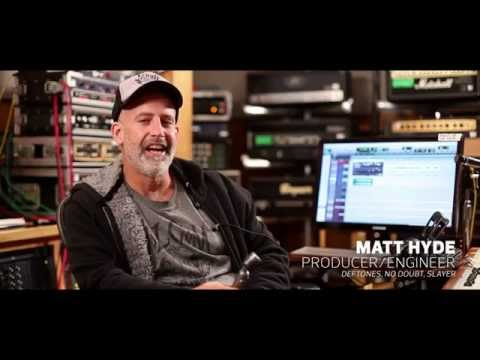 Drum Miking with Deftones Producer Matt Hyde and Hummingbird Mic