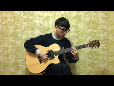 (Chanyeol X Punch) Stay With Me - Steve Lee [Fingerstyle Cover]