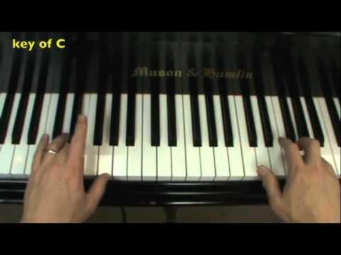 Frere Jacques Piano Lesson