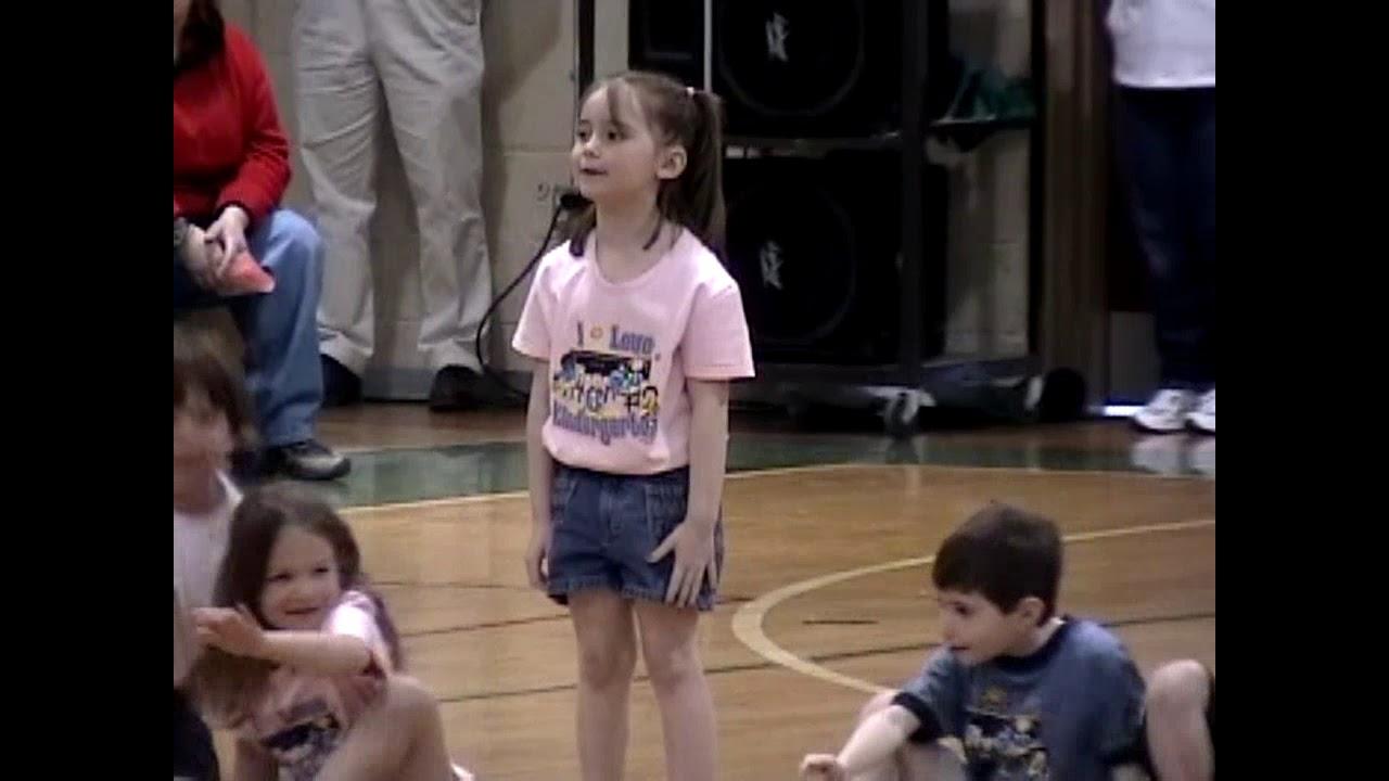 CCRS Kindergarten Gym Show  4-15-05