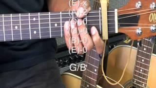 Lee Seung Chul - My Love MV  이승철 How To Play On Guitar 기타에 재생하는 방법