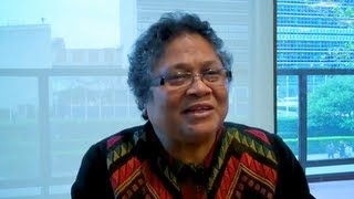 Women's Voices for Rio + 20 - Mirna Cunningham, Nicaragua