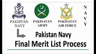 Pak Navy Merit List 2019 Batch A