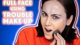 🗑 Full Face mit Flop Makeup Produkten 💩 letzte Chance Makeup i