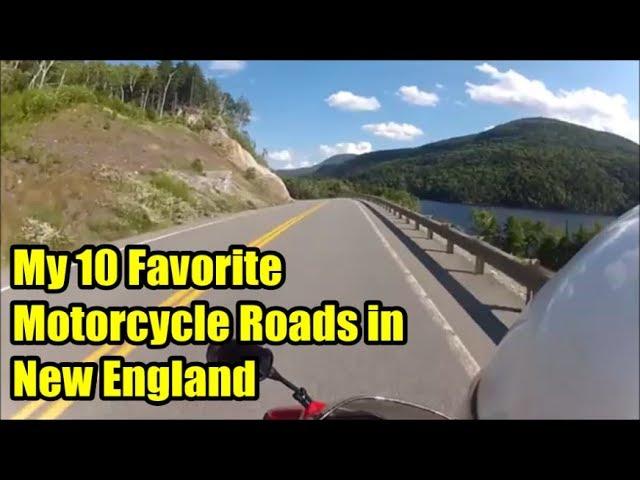 My 10 Favorite Motorcycle Roads In New