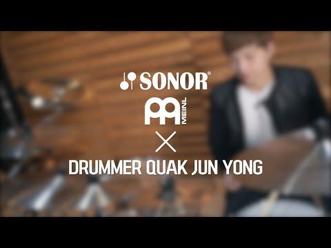 Drummer Quak Junyong / SONOR & MEINL