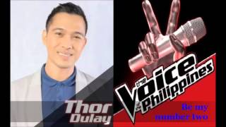 Be my number two - Thor Dulay with Juris (MYMP)