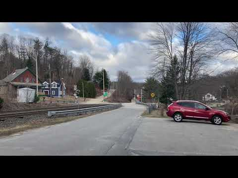 EDPO Vigorously Competes W/ High Winds in Royalston; Carrying Freight for New Hampshire & Maine